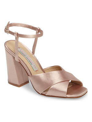 KRISTIN CAVALLARI Low Light Cross Strap Sandal