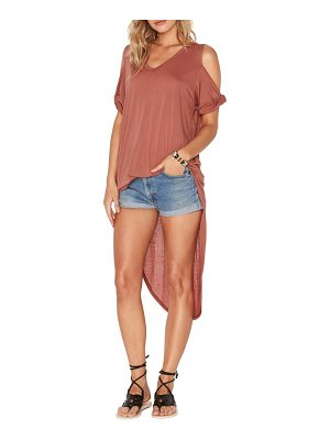 L*SPACE Mays High/Low Cover-Up Tee