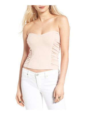 Leith ruched strapless top