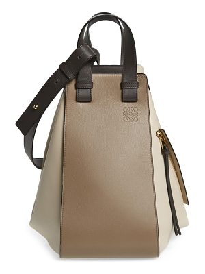 Loewe medium hammock tricolor leather hobo