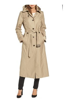 LONDON FOG Long Trench Coat