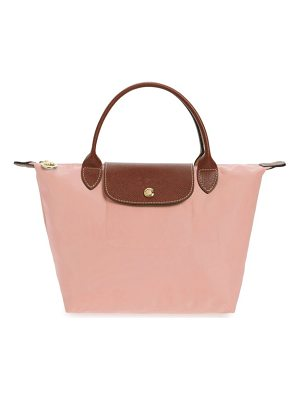 Longchamp 'small le pliage' top handle tote