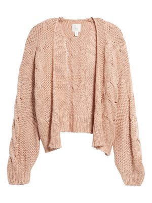 LOVE LIKE SUMMER X BILLABONG Boxy Cardigan
