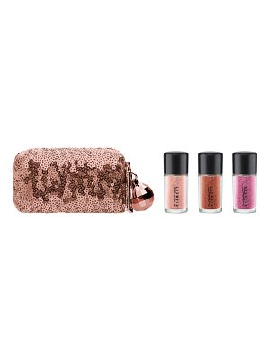 MAC snow ball pink pigment & glitter kit