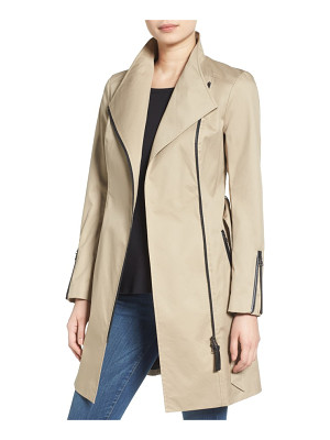 MACKAGE Belted Long Trench Coat
