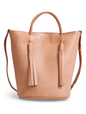 MADEWELL Austin Leather Bucket Bag