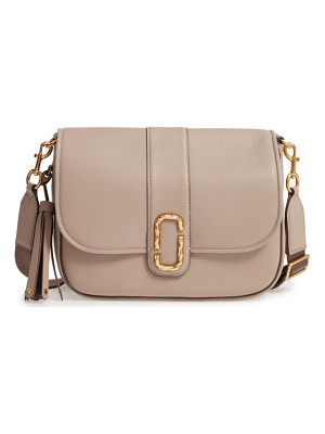 MARC JACOBS Interlock Leather Crossbody Bag