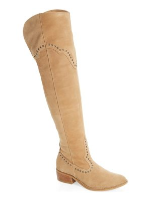 Matisse studded western over the knee boot