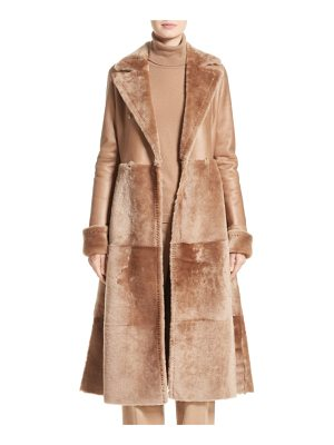 Max Mara rimini genuine shearing coat