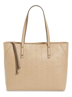MCM klara monogrammed leather shopper