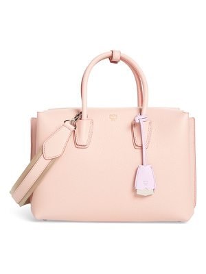 MCM medium milla leather tote