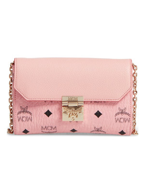 MCM Millie Visetos Crossbody Bag