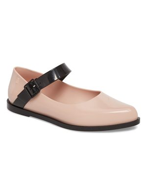 MELISSA Pointy Toe Mary Jane Flat