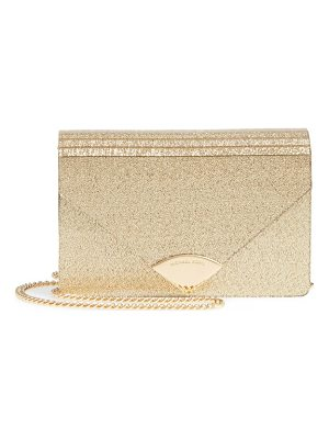 MICHAEL KORS Medium Barbara Metallic Envelope Clutch