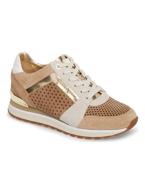 MICHAEL Michael Kors billie perforated sneaker