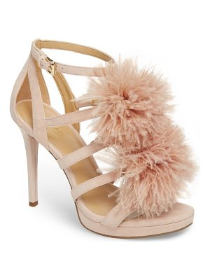 MICHAEL Michael Kors fara feather pom sandal