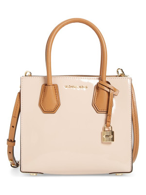 MICHAEL MICHAEL KORS Medium Mercer Leather Messenger Tote