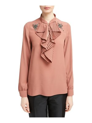 N21 n?21 beaded applique blouse