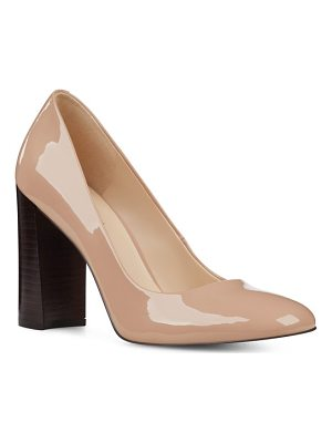NINE WEST Denton Block Heel Pump
