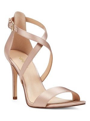 NINE WEST Mydebut Cross Strap Sandal