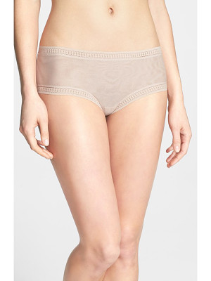 ON GOSSAMER Mesh Hipster Boyshorts