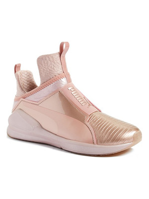 PUMA Fierce Metallic High Top Sneaker