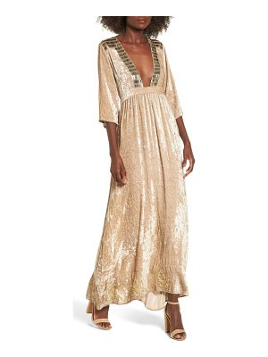 RAGA Romantic Visions Velvet Maxi Dress