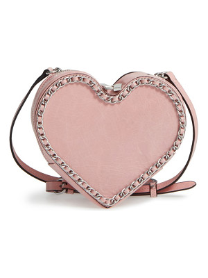 Rebecca Minkoff chain heart crossbody bag