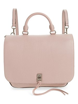 REBECCA MINKOFF Darren Convertible Leather Backpack