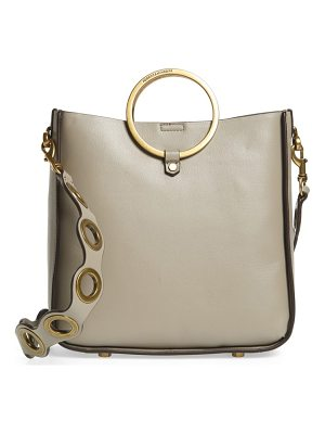 REBECCA MINKOFF Ring Leather Feed Bag
