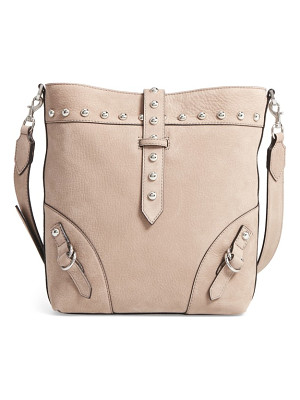 REBECCA MINKOFF Rose Leather Bucket Bag