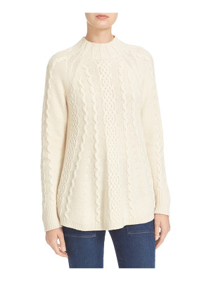 Rebecca Taylor cable knit swing pullover