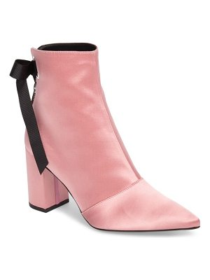 ROBERT CLERGERIE X Self-Portrait Karlis Pointy Toe Bootie