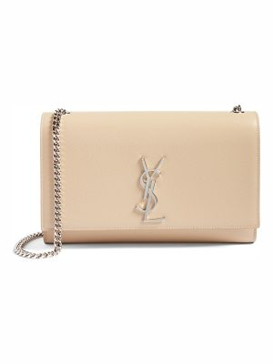Saint Laurent medium kate calfskin leather shoulder bag