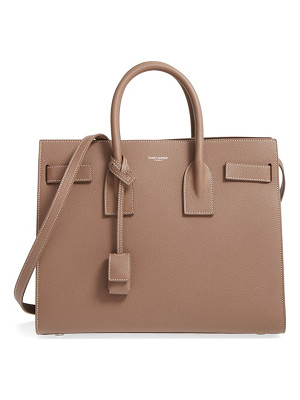 Saint Laurent small sac de jour calfskin leather tote