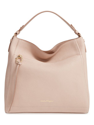 SALVATORE FERRAGAMO Ally Leather Hobo
