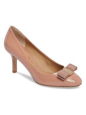 SALVATORE FERRAGAMO Erice Bow Pump