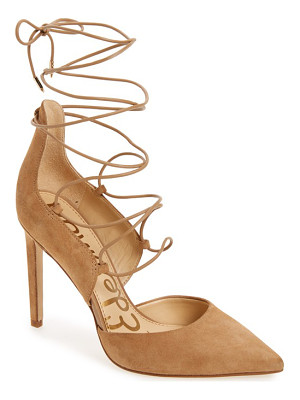 SAM EDELMAN 'Helaine' Ghillie Pointy Toe Pump
