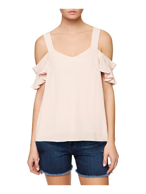 Sanctuary annie cold shoulder blouse