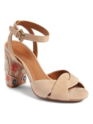 See By Chloe gayla embroidered block heel sandal