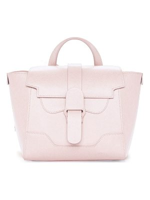 SENREVE Mini Maestra Pebbled Leather Satchel