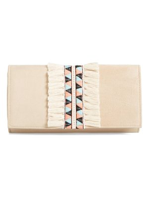 SHIRALEAH Rada Embroidered Clutch