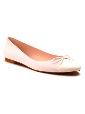 SHOES OF PREY Almond Toe Ballet Flat