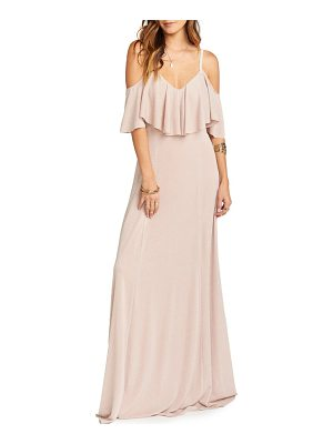 SHOW ME YOUR MUMU Renee Ruffle Gown