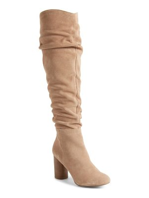 Sole Society bali slouchy over the knee boot