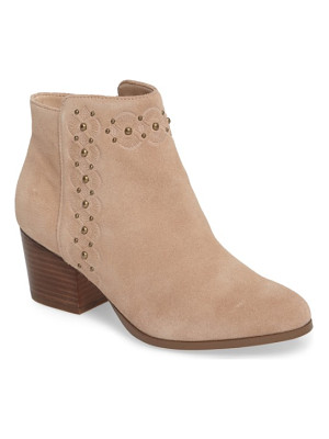 SOLE SOCIETY Gala Studded Embossed Bootie