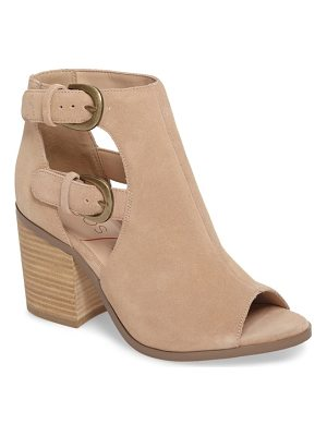 SOLE SOCIETY Hyperion Peep Toe Bootie