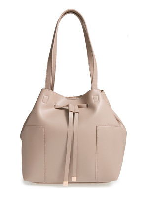 SOLE SOCIETY Jocelynn Faux Leather Bucket Bag