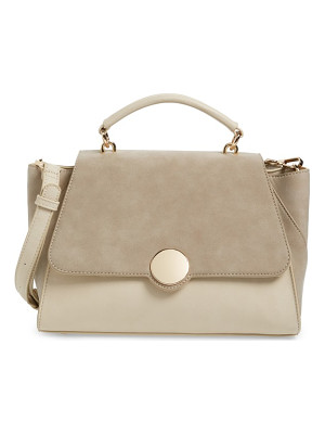 SOLE SOCIETY Kenyon Faux Leather Satchel