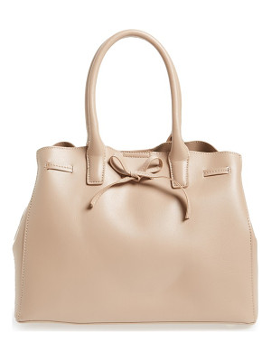 SOLE SOCIETY Layton Faux Leather Satchel
